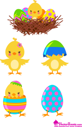 Egg-stra Special Royalty-Free Easter Vectors