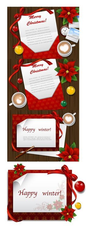 Christmas greeting cards Desktop