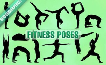 13 Fitness poses