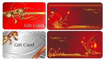 2 beautiful and practical gift cards