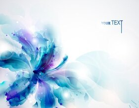 Flower pattern banner vector-14