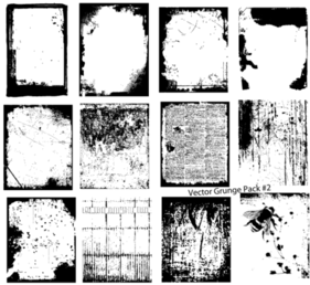 Free Download Vector Grunge Texture Pack