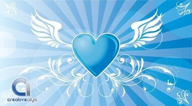 Vector Winged Heart