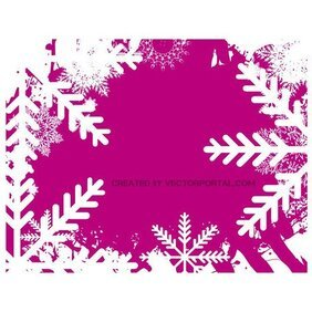 PINK WINTER STOCK VECTOR GRAPHICS.ai