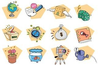 12 Free Vector Style Icons
