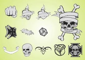 Tattoo lay-outs