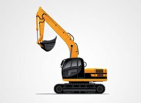 Construction Power Shovel Excavator
