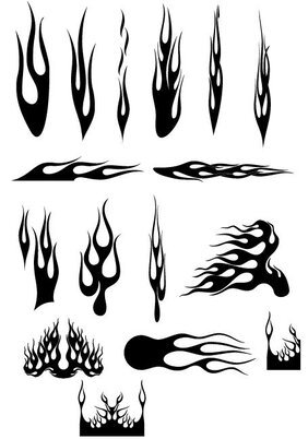 Vector fire a variety of cool patterns (3)