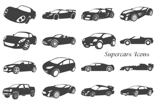 Free Supercars Icons