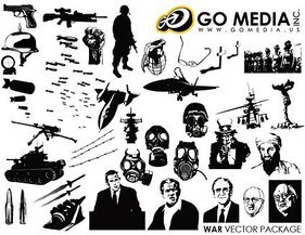 Go Media Vector Chupin material - War Theme