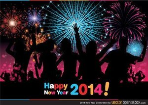 2014 new year celebration