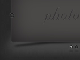 Dark photo slider