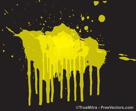 Dirty Paint Splash