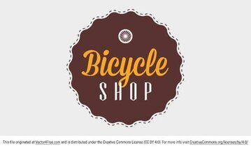 Fiets Shop Badge