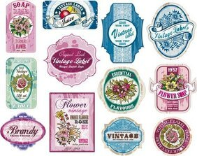 Vintage Wine Label Collection 02