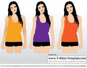 Free Women's Tank Top Template