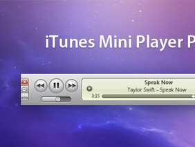iTunes Miniplayer