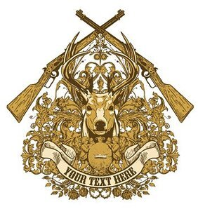European-style firearms deer sign pattern