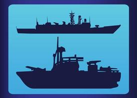 Silhouette Ships