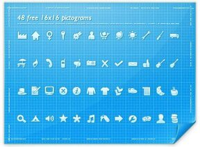 48 free 16x16 pictograms