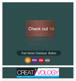 Leather Texture Checkout Button