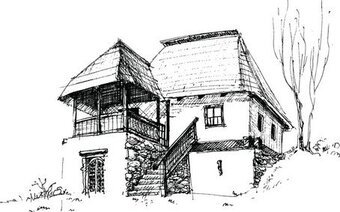 House Sketch Vector 3