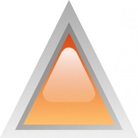 Led Triangular 1 (orange)