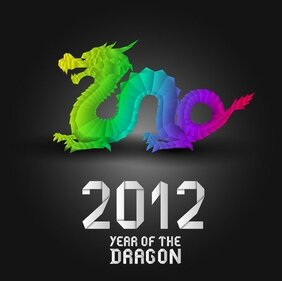 2012 year Of The Dragon ontwerpen 03