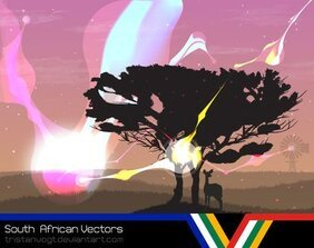 South African Vectors - Veld 1