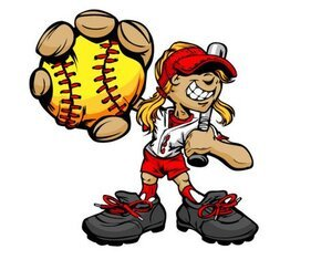 Baseball cartoon character 05