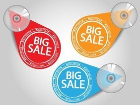 Special Sales Discount Graphic Design Vector 3