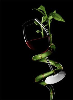 Plant swirls a glass of wine