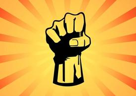 Fist Power Graphic