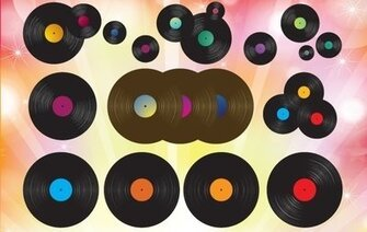 Glossy Vinyl Record Pack