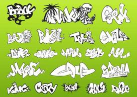 Graffiti stuk Pack