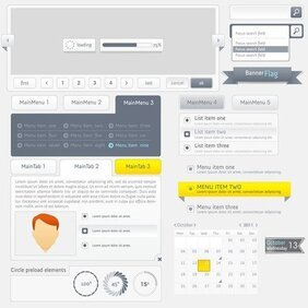 Web Design Navigation Menu 03