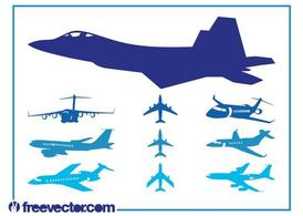 Flugzeuge-Graphics-Set