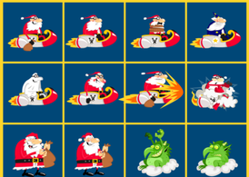 Santa Vector Cartoons