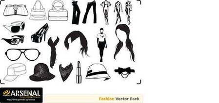 Ir Media Vector producido Set15Fashion tendencia
