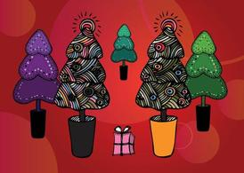 Gratis Christmas Tree illustraties