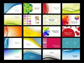 Variety Of Dynamic Flow Line Of Business Card Templates 02