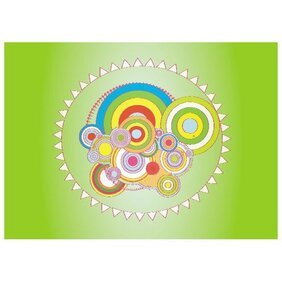 COLORED CIRCLES VECTOR ILLUSTRATION.eps