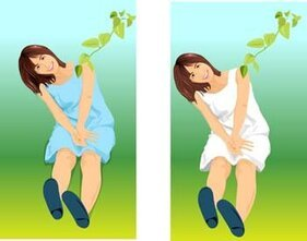 Sit girl position vector 28