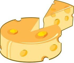Slice of cheese 3