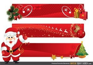 Christmas Promotion Banners