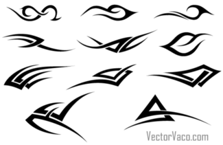Free Tribal Vector Pack