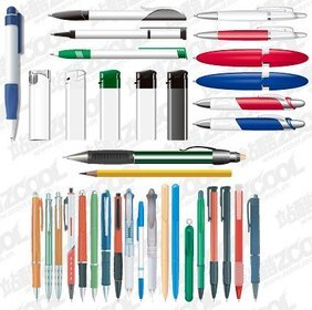 Advertising gift pen and lighter material