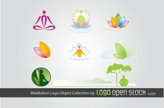 Collection d'objets de méditation Logo