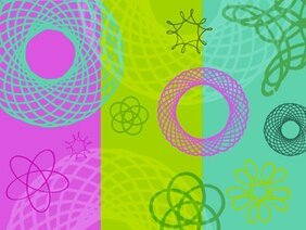 10 Spirograph Photoshop Brushes