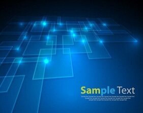 Vector Abstract Blue Background 2